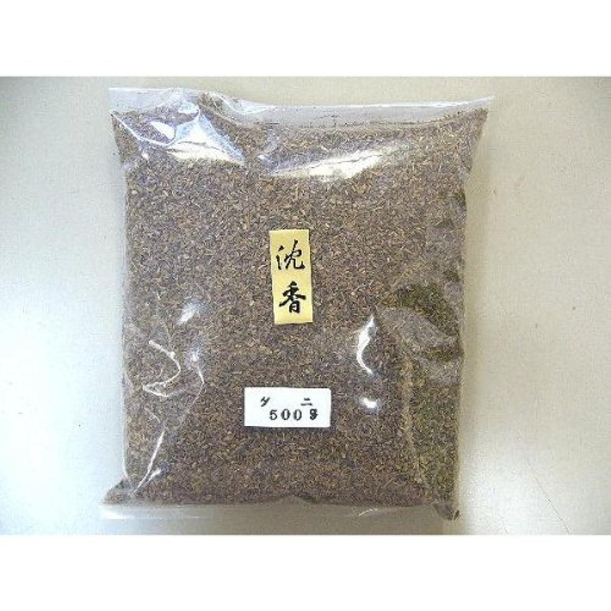 バージンドックスパンインドネシア産 タニ沈香(刻み)500gビニ-ル袋入