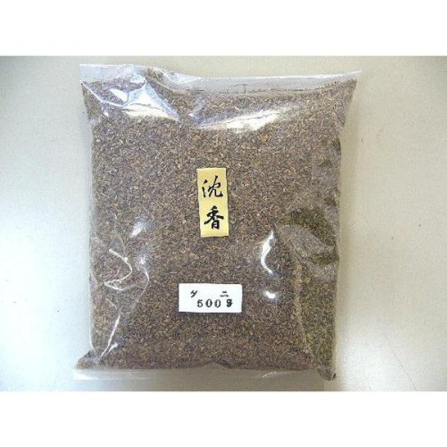インドネシア産 タニ沈香(刻み)500gビニ-ル袋入