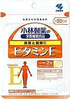 小林製薬の栄養補助食品 ビタミンE 約30日分 60粒×6個