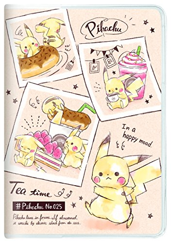 Kamio Japan Pokemon Pikachu notebook 2019 B6 Monthly cafe 09644 2018 Oc... Japan