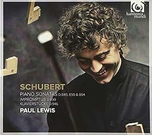 シューベルト:ピアノ・ソナタ集 (Schubert : Piano Sonatas D. 840 850 & 894 / Paul Lewis) [2CD]