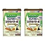 【Amazon.co.jp 限定】【まとめ買い】バスクリンピュアスキンなめらか肌600g入浴剤(約30回分)×2個
