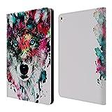 オフィシャルRiza Peker ウルフ アニマルズ レザー手帳型ウォレットタイプケース Apple iPad Pro 9.7