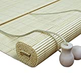 竹ローラーブラインド ウィンドウのため、 光フィルタリングロールアップブラインド バランス付き、 アンチフォグ竹のカーテン (サイズ さいず : 100x120cm)
