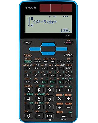 シャープ 関数電卓 559関数 青 EL-509T-AX
