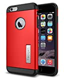 iPhone 6 Plus ケース, Spigen® [ スリム+保護力+個性 ] スリム アーマー Apple iPhone (5.5) アイフォン 6 プラス カバー (国内正規品) (【スリム アーマー】 エレクトリック・レッド)