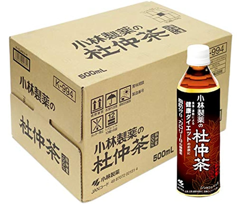 施設ロイヤリティ混乱した【ケース販売】 小林製薬の杜仲茶 (ペットボトル) 500mL×24本