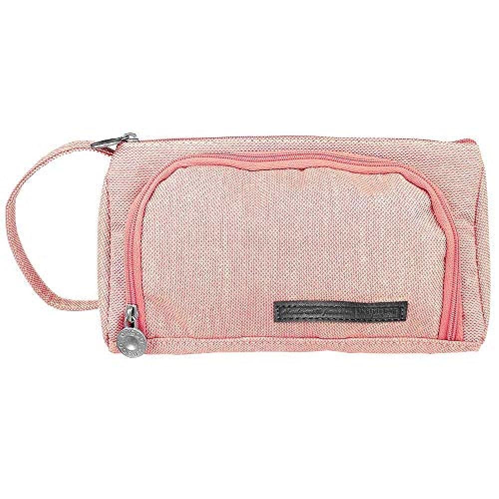 自分の消える光のVersionTek トラベルポーチ 化粧ポーチ ペンケース トイレタリーバッグ 筆箱 収納 バッグ 小物整理 小型 大容量 携帯便利 旅行用 通学 出張用 ピンク