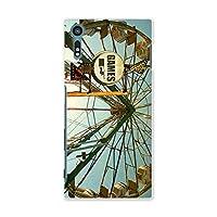 スマコレ スマホケース オリジナルスマートフォンケース ハンドメイド 携帯ケース【print】SO-01J 観覧車 ビンテージ 写真 tpu Xperia XZ エクスペリア XZ 011182 Sony ソニー docomo ドコモ so01j-011182-tpu
