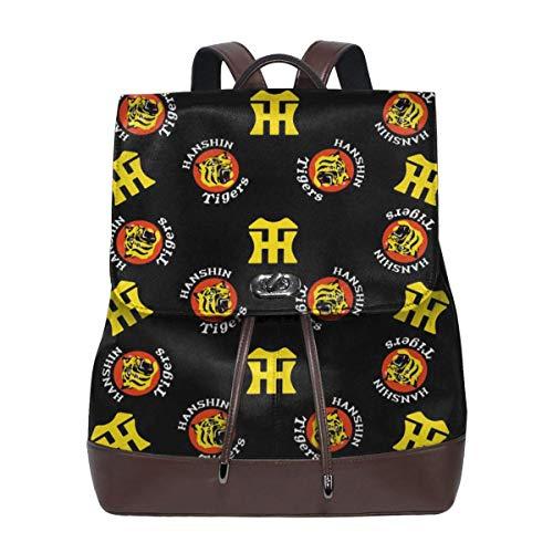 阪神タイガース リュック サック バックパック ファッションバッグ カバン 皮革 大容量 長持ち 収納 通勤 旅行 プレゼント 男女兼用