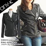 KADOYA any-k 2way Riders Jacket ライダースジャケット M NO.1118 NO.1118