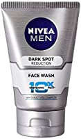 Nivea Men Dark Spot Reduction Face Wash (10X whitening), 100ml (Pack of 2) Free Shipping - HerbalStore_24*7(Ship from India)
