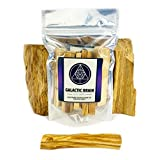 Galactic Brain Palo Santo Sticks (80g Pouch) | High Resin Palo Santo Wood from Peru for Cleansing, Meditation, Relaxation or Ritual