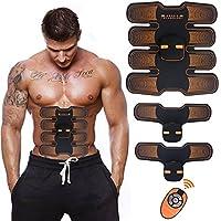 腹筋ベルト EMS 腰部 腹筋トレーニング 多機能 マシーンフィットネスベルト ダイエット器具 超薄 男女兼用 健康機械 USB充電式 G-TING