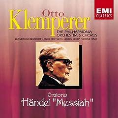 クレンペラー指揮/フィルハーモニア管弦楽団&合唱団 ヘンデル:オラトリオ「メサイア」のAmazonの商品頁を開く