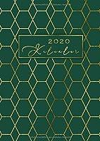 2020 Kalender: XXL Din A4 Planer von Januar bis Dezember 2020 | Terminplaner ideal zum Mitnehmen | Wochenkalender zum Planen, Organisieren und Notieren | inkl. Kontaktliste, Feiertagen, Platz fuer Notizen | Ziele 2020 aufschreiben