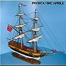 1160 輸入木製帆船模型 マモリ社 MV81 バリアント