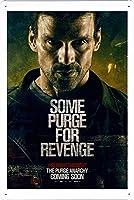 映画の金属看板 ティンサイン ポスター / Tin Sign Metal Poster of Movie The Purge: Anarchy #3