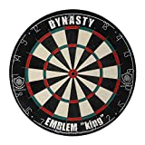 Dynasty (ダイナスティー) ダーツ ブラス・ボード・ダーツケース EMBLEM King Type-N スタンダード 05-01-001