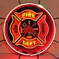 Neonetics 5 FIRED Fire Department Neon Sign