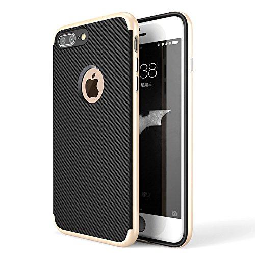 【CEAVIS】 iPhone 7 Plus ケース ハードフレーム & 耐...