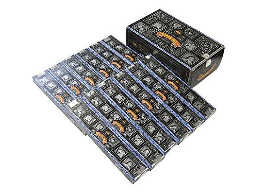 なかなかネクタイ権利を与えるSATYA(サチャ) スーパーヒット香 スティック マサラタイプSUPER HIT 12箱セット