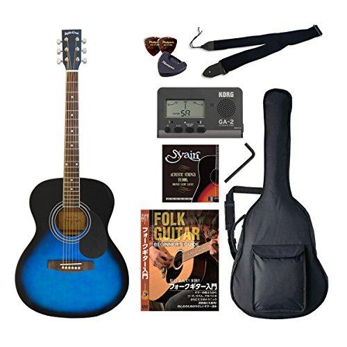 VALUE 4534853054515 SepiaCrue/セピアクルー FG-10/BLS アコースティックギター初心者向け豪華8点バリュー ビギナー向け/アコースティックギター