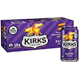 Kirks Pasito Multipack Cans Soft Drink, 10 x 375 ml