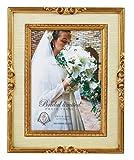 Amazon.co.jpユ-パワ- For Wedding Gift ブライダルリミテッドフォトフレーム キャビネ ゴールド BF-02232