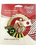 コカコーラ ピンバッジ 2016 リオオリンピック x 2020 東京オリンピック 公式ライセンス品