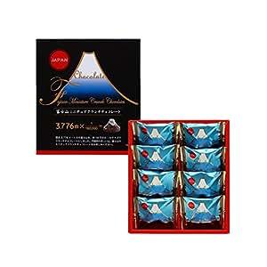 メリーチョコレート 富士山ミニチュアクランチチョコレート 8個入