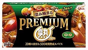 江崎グリコ プレミアム熟カレー中辛 160g