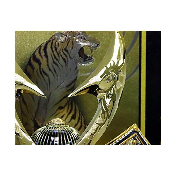 五月人形 兜ケース飾り ゴールドハヤブサ兜 間...の紹介画像5