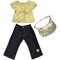 [カーパティーナドール]Carpatina Dolls Starlight Blouse, Jeans and Sequins Bag Fits 18 American Dolls SB0036 [並行輸入品]
