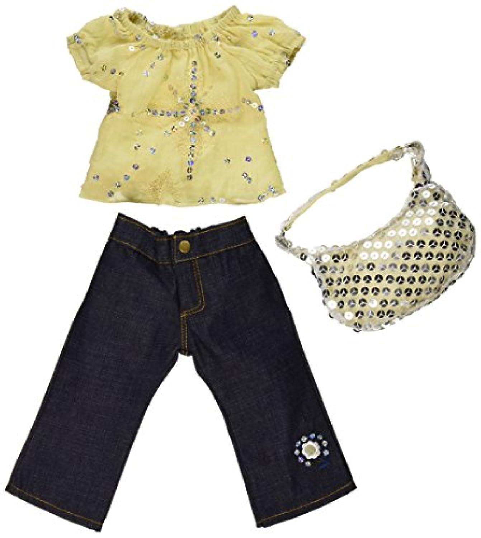 [カーパティーナドール]Carpatina Dolls Starlight Blouse, Jeans and Sequins Bag Fits 18 American Dolls SB0036 [並行輸入品]