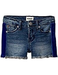ハドソン Hudson Kids キッズ 女の子 ショーツ ハーフパンツ Washed Blue Gabby Shorts 4LittleKids [並行輸入品]