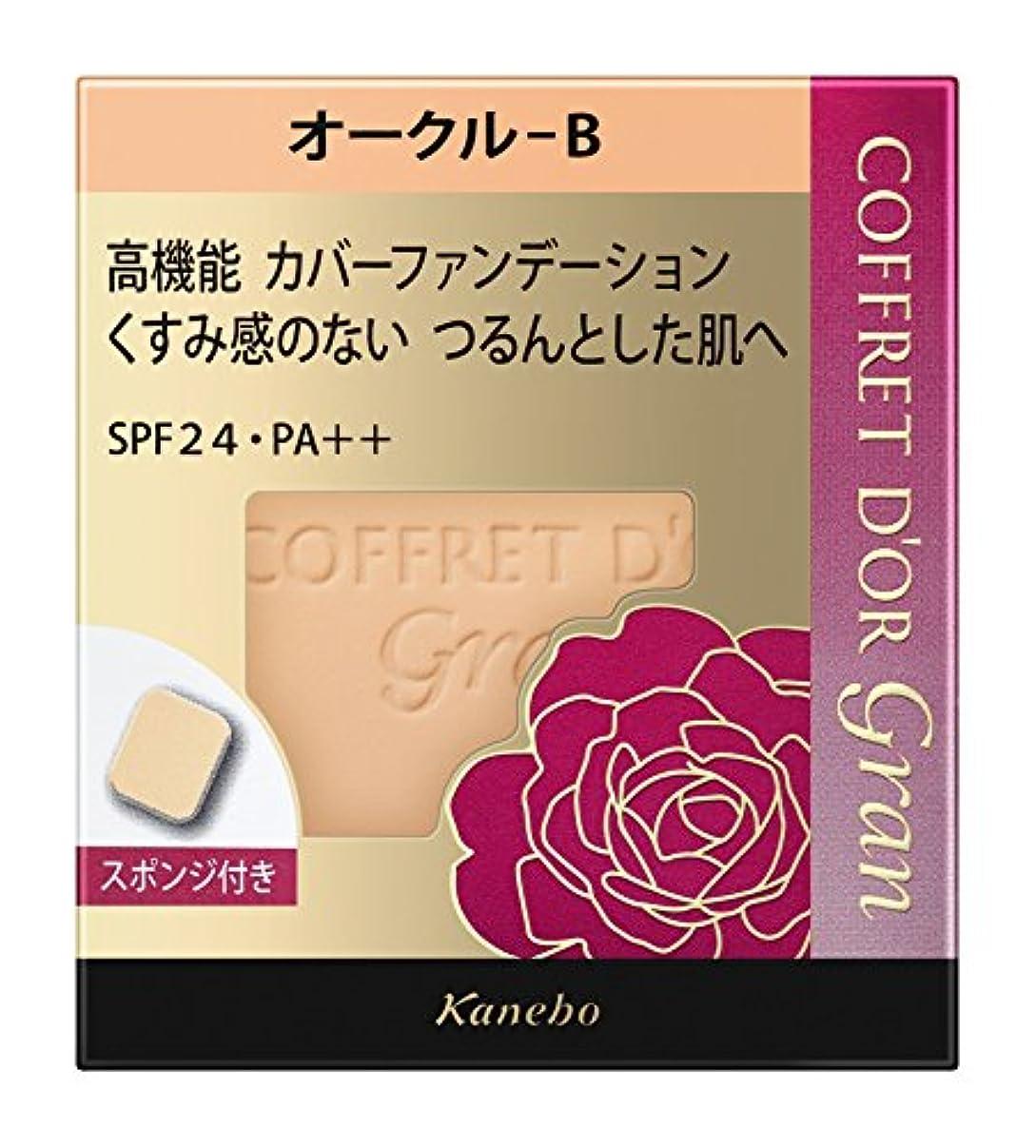 カメラお茶プロトタイプコフレドール グラン ファンデーション カバーフィットパクトUV2 オークルB SPF24/PA++ 10.5g