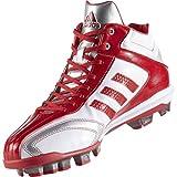 アディダス(adidas) アディピュアT3 MID ポイント(クリスタルホワイト/パワーレッド/クリスタルホワイト) AQ8359 Cホワイト/Pレッド/Cホワイト 26.0cm