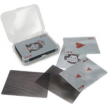 マイクロ ドッツ トランスパレント カード Micro Dots Transparent Card [トランプ Playing Cards]