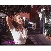 大きな写真、ダイアン・レイン、輝く笑顔。白のノンスリーブ
