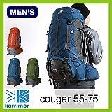 カリマー クーガー 55-75 cougar 55-75 バックパック メンズ レジオン