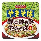 ペヤング 野菜炒め風やきそば 1ケース(12食入)