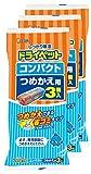 【まとめ買い】 ドライペット 除湿剤 コンパクト・ファン共通 つめかえ用 (350ml×3個入)×3個