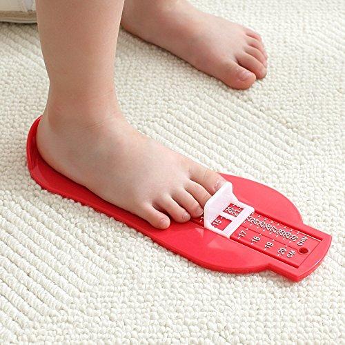 [ホームランド] 足測定ツール 赤ちゃん足寸法計 フットメジャー 靴測定器