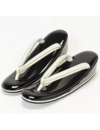 (キステ)Kisste お洒落&準礼装用 本皮高級草履 日本製 エナメル加工 フリーサイズ 7-1-03067