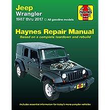 HM Jeep Wrangler 1987-2017: Haynes Repair Manual