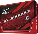 MIZUNO(ミズノ) ゴルフボール ティー・ゾイド 1ダース(12個入り) ユニセックス 5NJBD52310