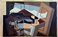 グリス・「ルー・カニグー」 プリキャンバス複製画・ ギャラリーラップ仕上げ(6号サイズ)