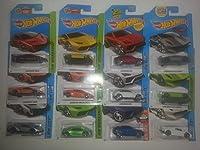 [Bundle of 12 cars] Hot Wheels Deluxe Lamborghini set of 12!! 3 each of Sesto Elemento, Veneno, Huracan and Urus!!