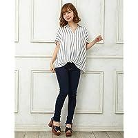 イング(INGNI) 裾タックトロミ スキッパーシャツ
